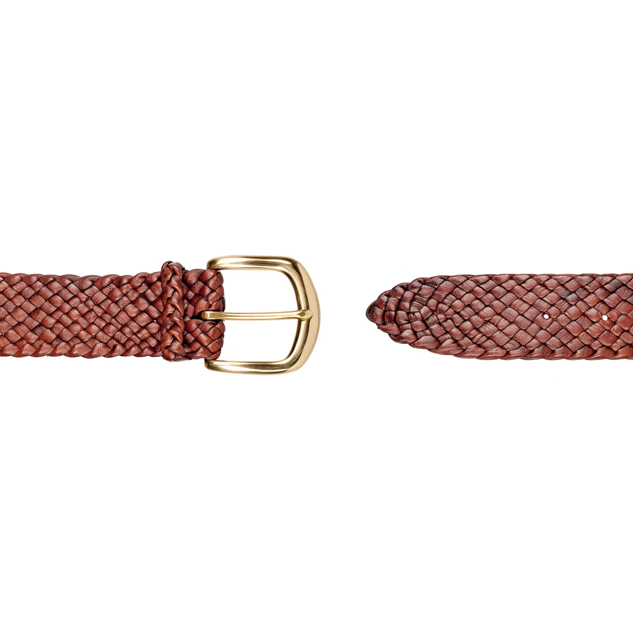 Jumbuck Kangaroo Plaited Belt (38mm Wide)