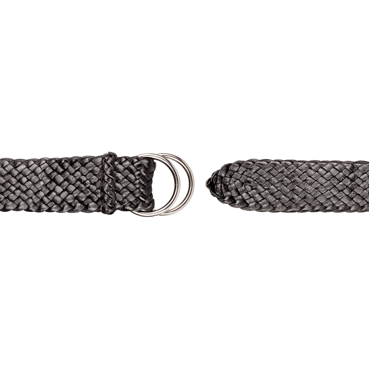 Riverina Kangaroo Plaited Mens Ring Belt (35mm Wide)