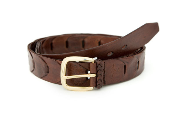 Maranoa Kangaroo Link Mens Buckle Belt (32mm Wide)