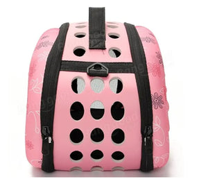 Portable Small Pet Dog Cat Sided Carrier Travel Tote Shoulder Bag Cage House