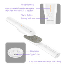 Load image into Gallery viewer, uv led sanitizer wand.phone sanitizer, cell phone sanitizer, uv sanitizer box, smartphone sterlizer, cell phone cleaner box, phone sanitizer and charger, sanitzer for phone mask