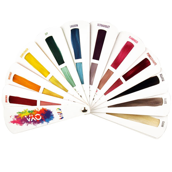 OYA Wild Fan Blade Color Chart