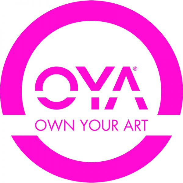 OYA Color Window Decal (Pink)