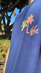 ry. LIFE Palm Tree Tee