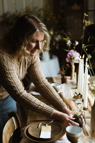 Maker and stylist Kate Cullen - owner of The Gathered Room
