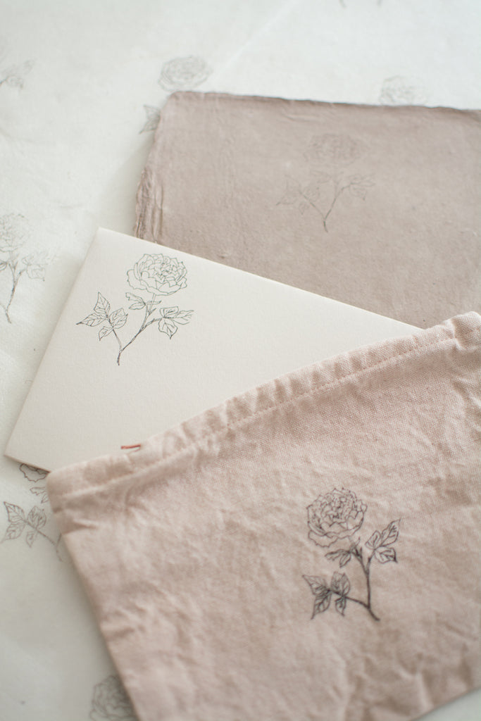 5 Elegant Ideas for Using a Rubber Ink Stamp
