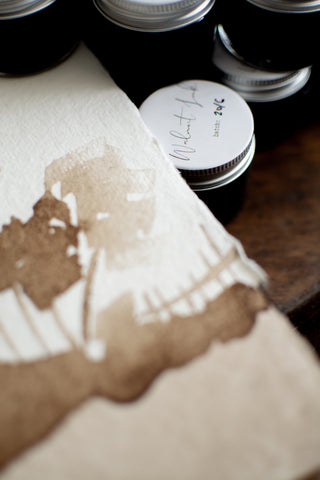 walnut ink for calligraphers