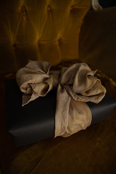 Golden Silk Scarf