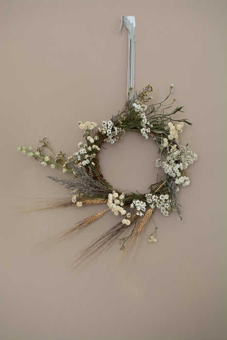 DIY Dried Flower Christmas Wreath Kit