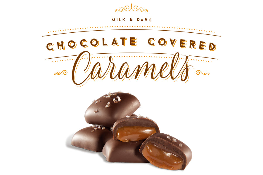 Custom private label chocolate salted caramels - Jo's Candies
