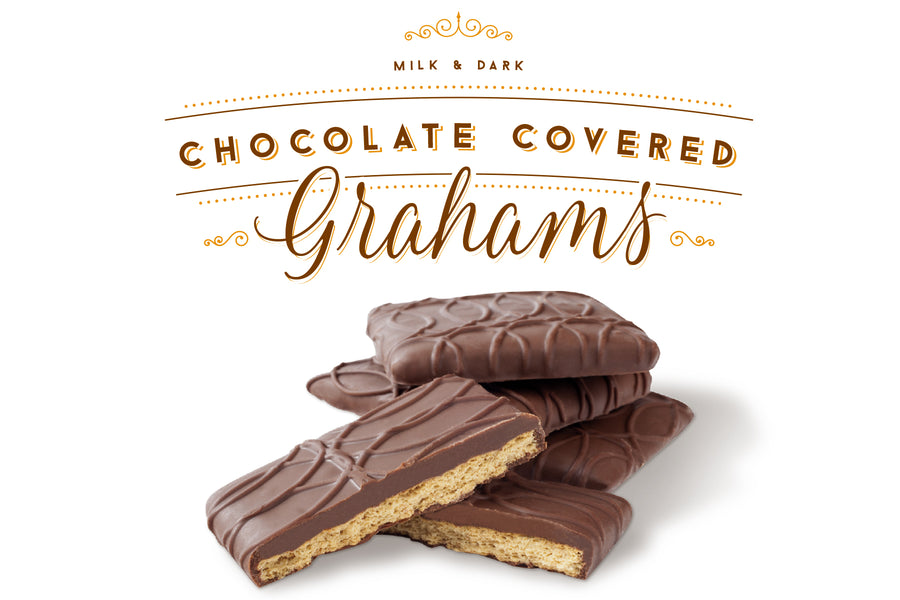 Private label chocolate covered graham crackers - Jo's Candies