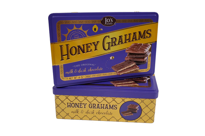 Assorted Chocolate Covered Graham Crackers Gift - Jo Candies