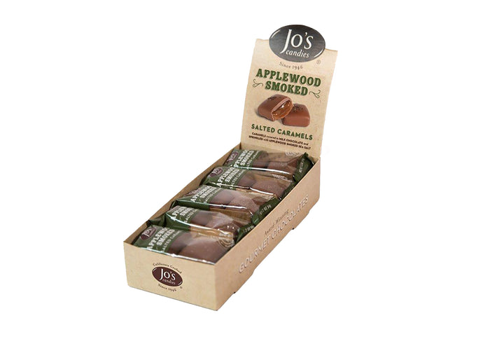 Milk Chocolate Caramels with Applewood Smoked Sea Salt  - Jo's Candies
