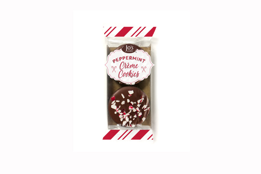 Peppermint Creme Cookies  - Jo's Candies