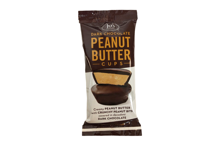Dark Chocolate Peanut Butter Cups (12- 2pc Packs)