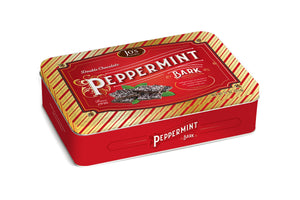 Double Chocolate Peppermint Bark Gift Tin  - Jo's Candies