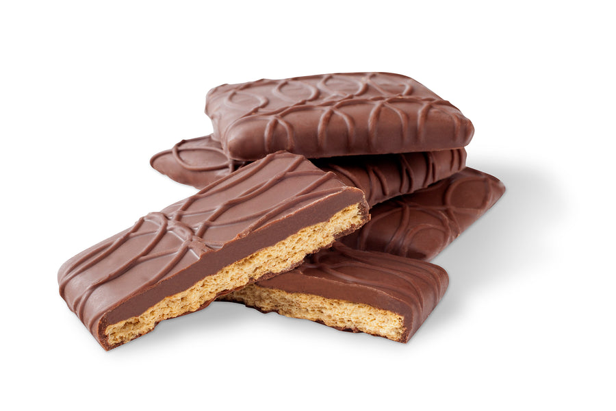 Milk Chocolate Covered Honey Graham Crackers - Jo's Candies