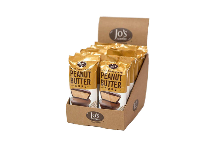 Milk Chocolate Peanut Butter Cups - Jo's Candies