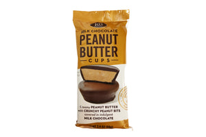 Milk Chocolate Peanut Butter Cups (12- 2pc Packs)