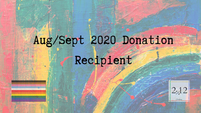 Announcement: Aug / Sept 2020 Non-Profit