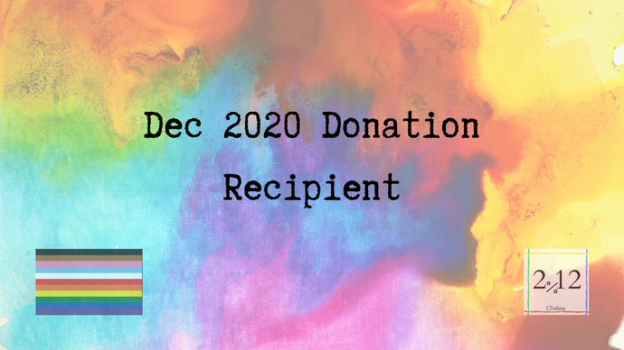 Announcement: Dec 2020 Non-Profit