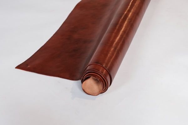 Victoria Glossy Milled Leather