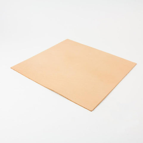 "Vegetable Tanned Leather Panel Large (12"" x 12"") 4-5oz"