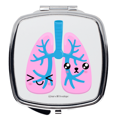 Happy Lungs Mirror - Nurse Life Boutique