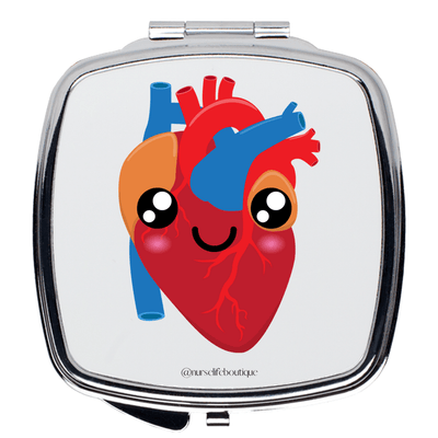 Happy Heart Mirror - Nurse Life Boutique