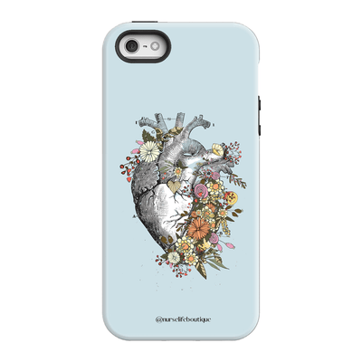 Flowering Heart Phone Case - Nurse Life Boutique