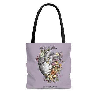 Flowering Heart Tote - Nurse Life Boutique