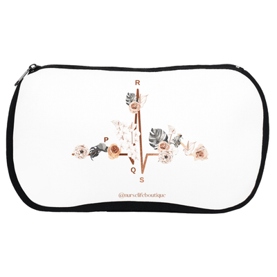 Floral EKG Stethoscope Case - Nurse Life Boutique