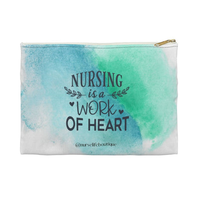 Work of Heart Accessory Pouch - Nurse Life Boutique