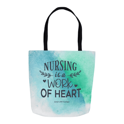 Work of Heart Tote - Nurse Life Boutique