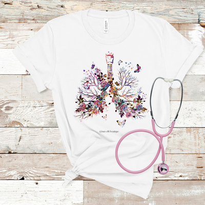 Bronchial Wonderland Short Sleeve T-Shirt - Nurse Life Boutique