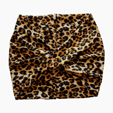 Leopard Wide Headband - Nurse Life Boutique