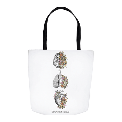 Flowering Organs Tote - Nurse Life Boutique