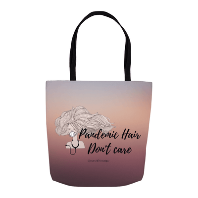 Pandemic Hair Tote - Sunrise - Nurse Life Boutique