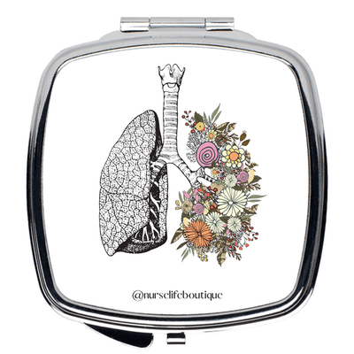 Flowering Lungs Mirror - Nurse Life Boutique