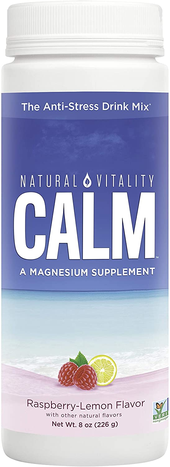 Natural Vitality Calm - Raspberry-Lemon