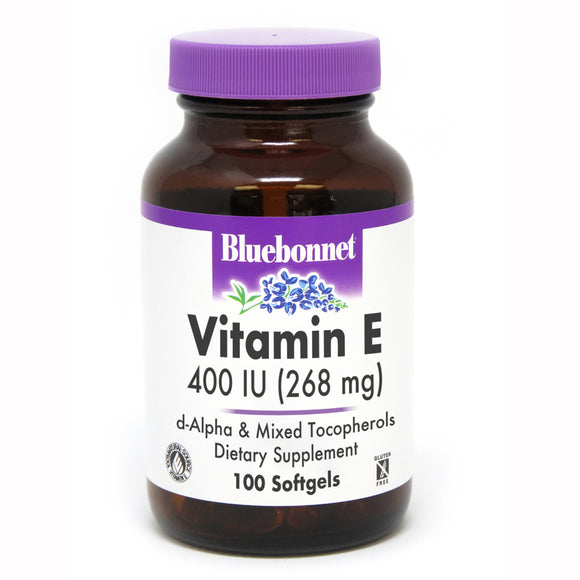 Bluebonnet VITAMIN E 400 IU MIXED 100 softgels