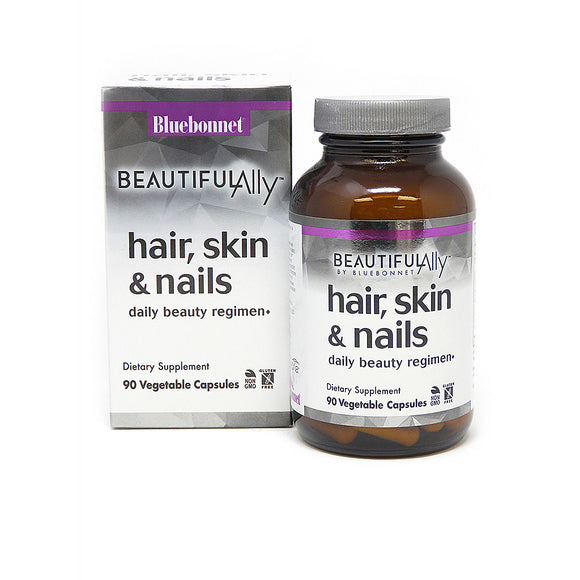 Bluebonnet BEAUTIFUL ALLY® HAIR, SKIN & NAILS 90 veggie caps