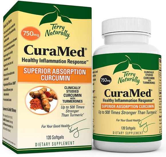 Terry Naturally Curamed 120 ct