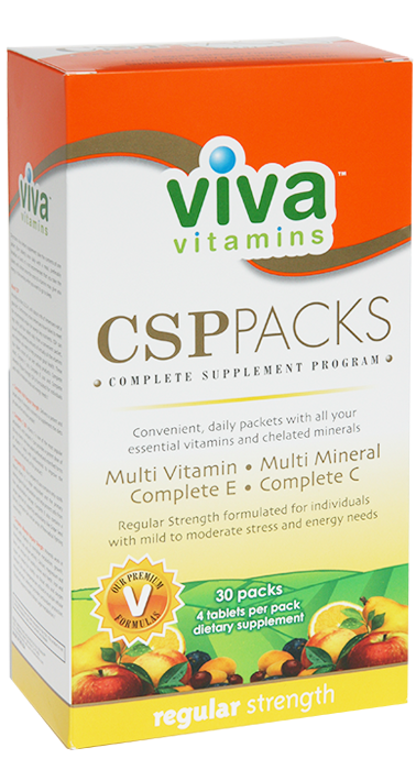 Viva Vitamins CSP Pack Regular Strength (30 pack)