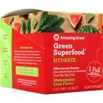 Amazing Grass Green Superfood Effervescent Greens Watermelon Lime - Hydrate 6 unit