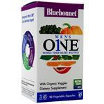 Bluebonnet Men's One - Whole Food Based Multiple 90 vcaps