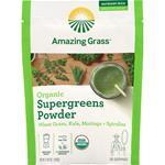 Amazing Grass Organic Supergreens Powder WheatGrass, Kale, Moringa 5.29 oz