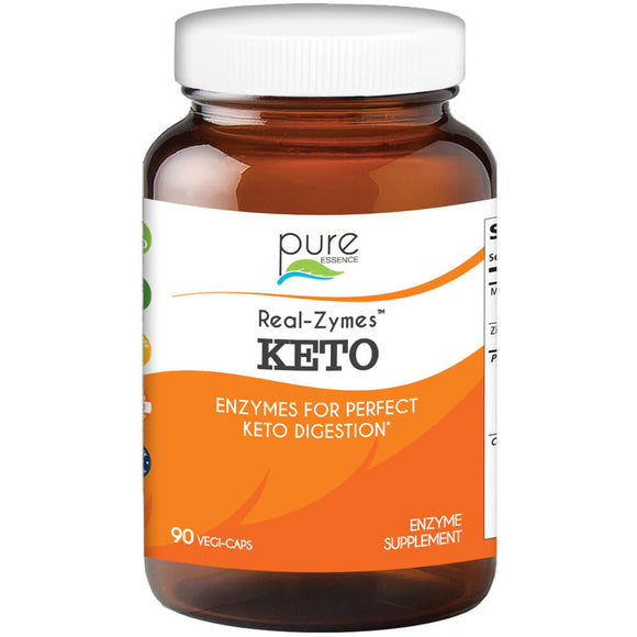 Pure Essence Real Zymes Keto - 90 ct