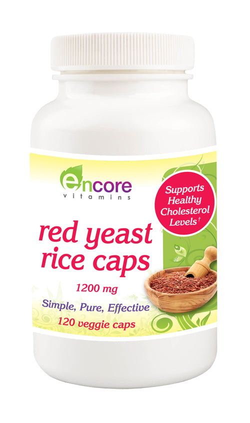 Encore Red Yeast Rice 1200mg