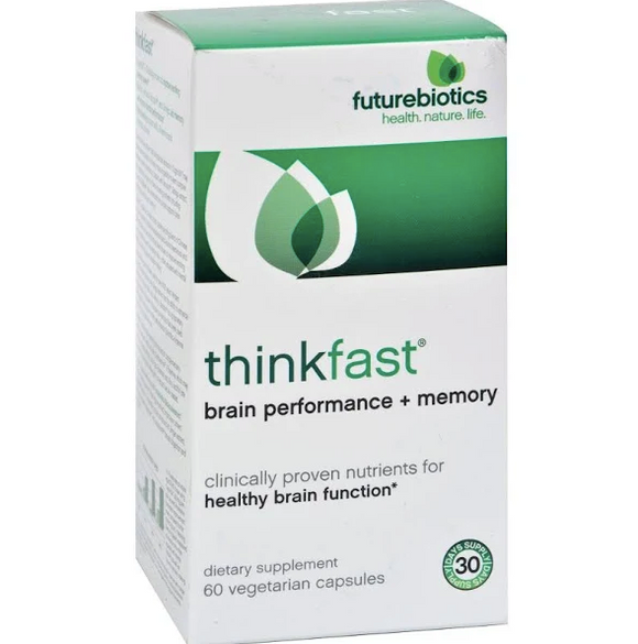 Futurebiotics thinkfast brain performance + memory 60Vcaps